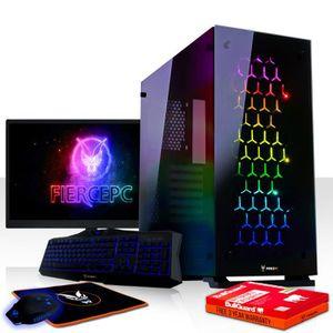 UNITÉ CENTRALE  Fierce APACHE PC Gamer de Bureau - Intel Core i7 7