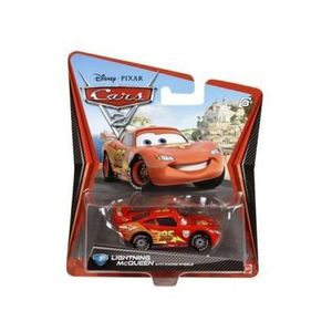 VOITURE - CAMION Voiture Disney Cars 2 Flash MCQUEEN V?hicule Minia