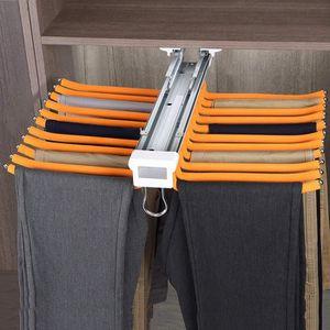 Cintres Pantalons Hanger Rangement Dressing Porte Porte Pantalons Extractible Pour Rangement Dressing Coulissant Pantalons Organisateurs V/êtements Serviette /Écharpe Tie Rack