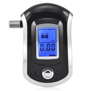 Testeur dalcool Num/érique /Écran LCD Alcootest /Électronique Portable 5 Embouts Yompz /Éthylotest Professional Portable Haute Sensibilit/é /Énergie /Économie