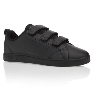 ADIDAS NEO Baskets VS Advantage Clean Scratch Chaussures Homme Noir ... a6aeefd20388