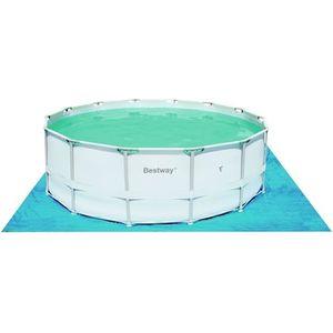 BÂCHE - COUVERTURE  Tapis de sol protection piscine Tapis de sol 4.88