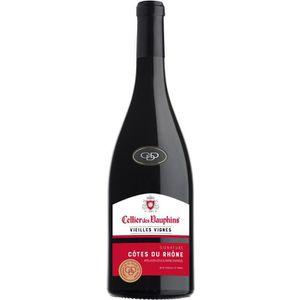 VIN ROUGE Cellier des Dauphins Vieilles Vignes Signature 201