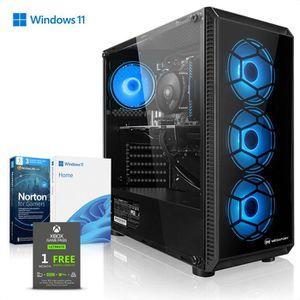 UNITÉ CENTRALE + ÉCRAN Megaport PC Gamer AMD Ryzen 5 2600 6x 3,90 GHz Tur