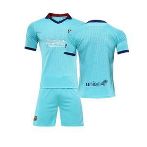 MAILLOT FOOT AMERICAIN Barca Lionel Jersey Maillot et Shorts de Football