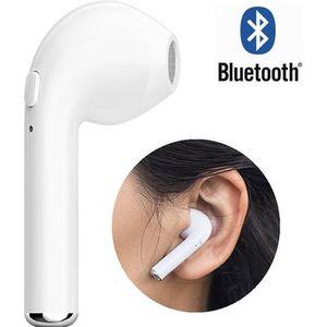 CASQUE - ÉCOUTEURS Oreillette Bluetooth sans fil Kit Mains-libres Uni