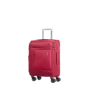 VALISE - BAGAGE Valise cabine souple Asphere Spinner 55 cm RED/GRE