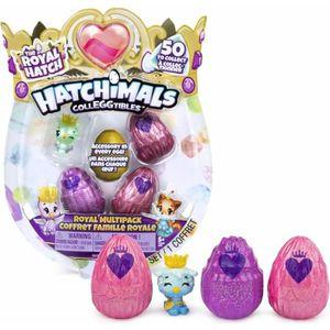 FIGURINE - PERSONNAGE HATCHIMALS - Coffret 4 Hatchimals + 4 accessoires