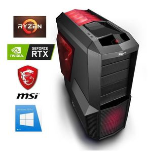 ORDINATEUR TOUT-EN-UN PC Gamer Ryzen 7 - GeForce RTX 2060 6GO - 16GO RAM