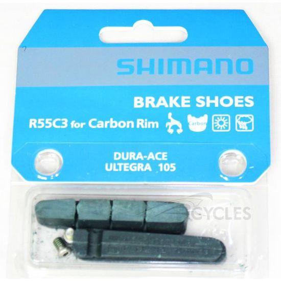 Shimano r55c4 Plaquettes de freins alu Dura Ace//Ultegra//105 2 Paire