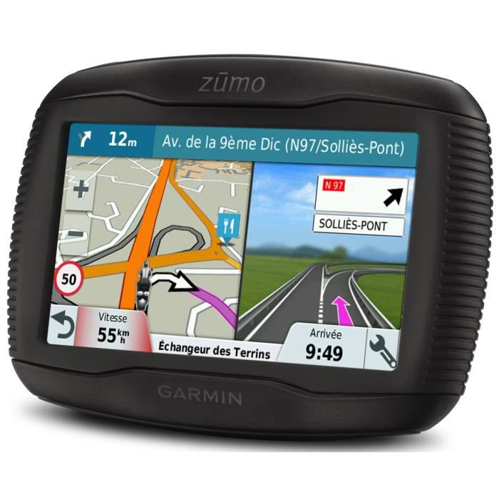 garmin zumo 345lm gps moto 4 3 carte europe de l 39 ouest 24 pays achat vente gps auto. Black Bedroom Furniture Sets. Home Design Ideas
