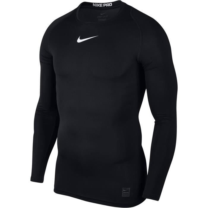NIKE T-shirt de compression - Homme - Noir