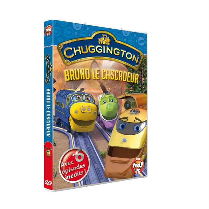 Dvd chuggington saison 2 vol 2 en dvd dessin anim pas - Chuggington dessin anime ...
