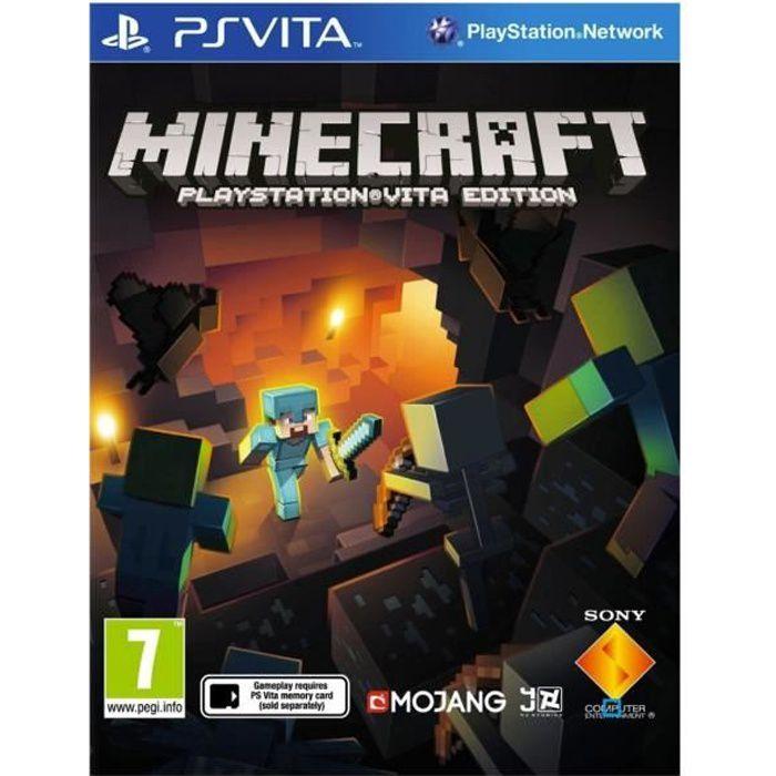 Minecraft Jeu PS Vita