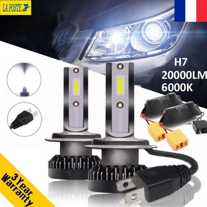 110W 20000LM Canbus H7 LED sans erreur Ampoule Voiture Feux Lampe Kit Phare