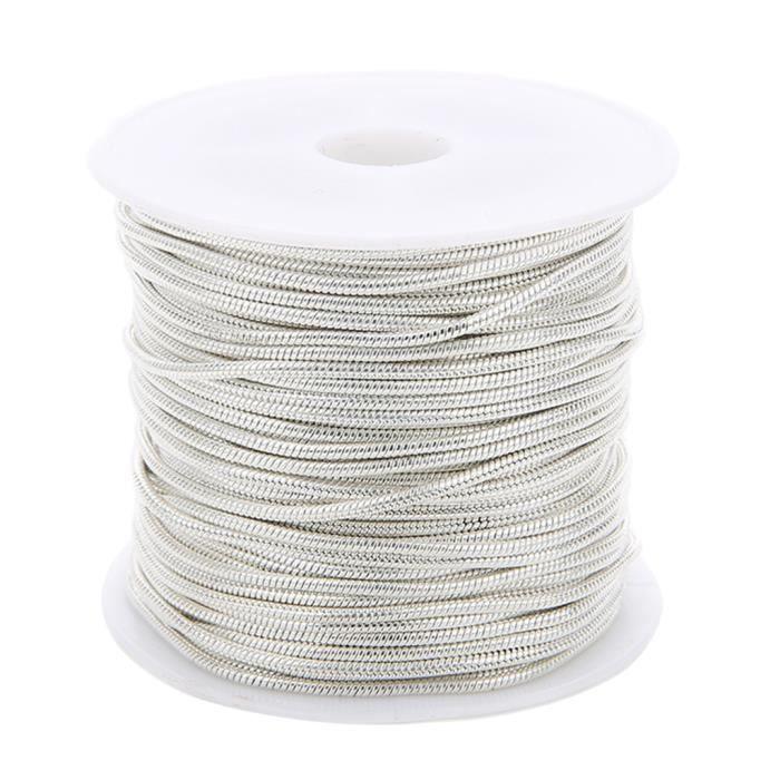CHAINE DE COU VENDUE SEULE 1 rouleau de chaînes de serpents pour la fabrication de bijoux