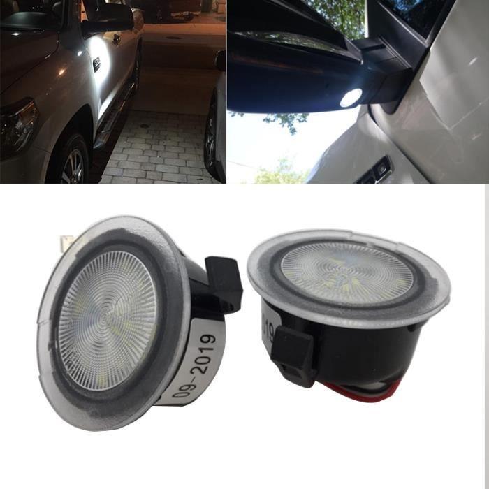 Paire LED Sous Rétroviseur Lumières D'approche Pour Ford F150 Mercury Sable Raptor Bord Ex -6000k