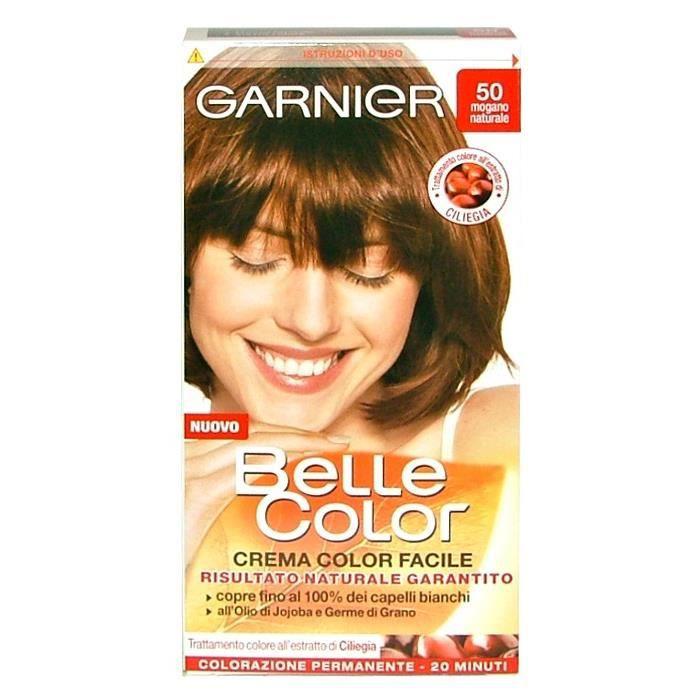 BELLE COLOR 50 Acajou Naturel - Teintures Pour Cheveux