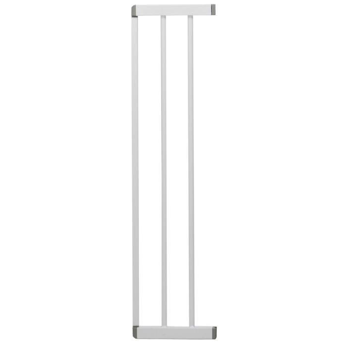 LAWALU BY GEUTHER Extension 17 cm barrière de sécurité métal Easy close pressure fit