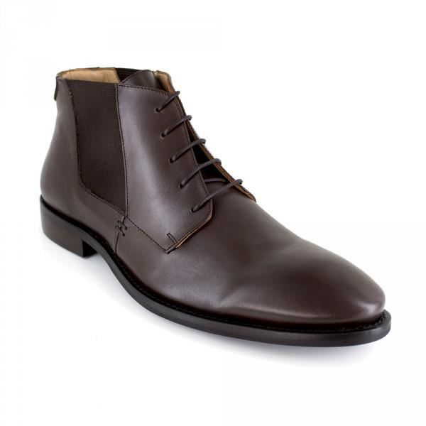 Bottine J.Bradford Cuir Marron JB-MINERAL - Couleur - Marron
