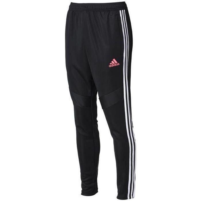 ADIDAS PERFORMANCE Pantalon de jogging JUVE TR PNT - Homme - Noir/Blanc