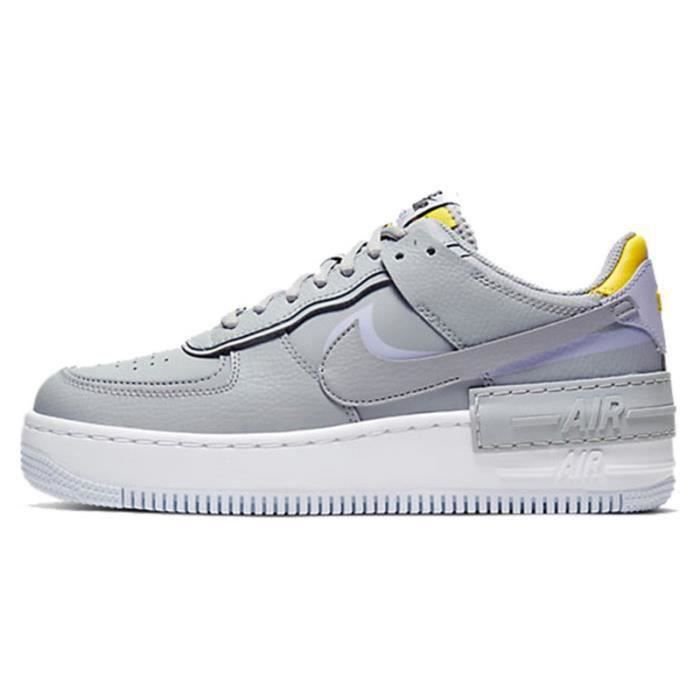 Basket Air Force 1 Shadow Air Force One AF 1 Low Chaussures de Running Femme CI0919-1002