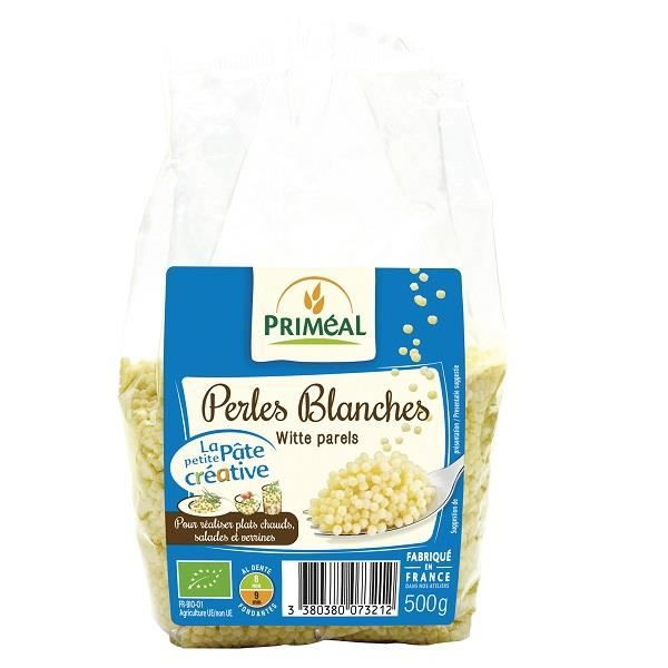 PRIMEAL - PERLES BLANCHES 500G