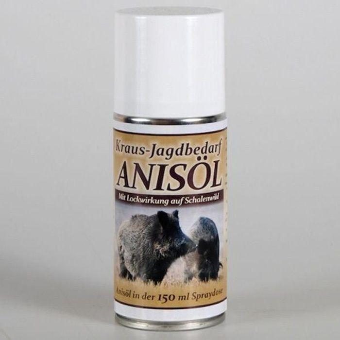 Attractif professionnel d'huile d'anis de 150 ml en spray - Attractant pour gibier 100% naturel
