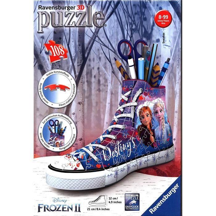 Puzzle 3D Sneaker - Disney La Reine des Neiges 2