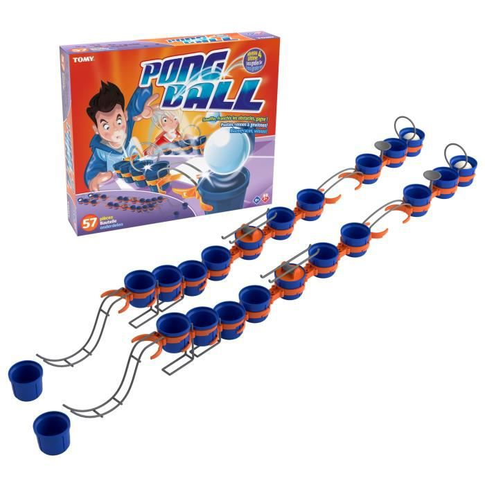 TOMY Pong ball - Ultime - 57 pièces