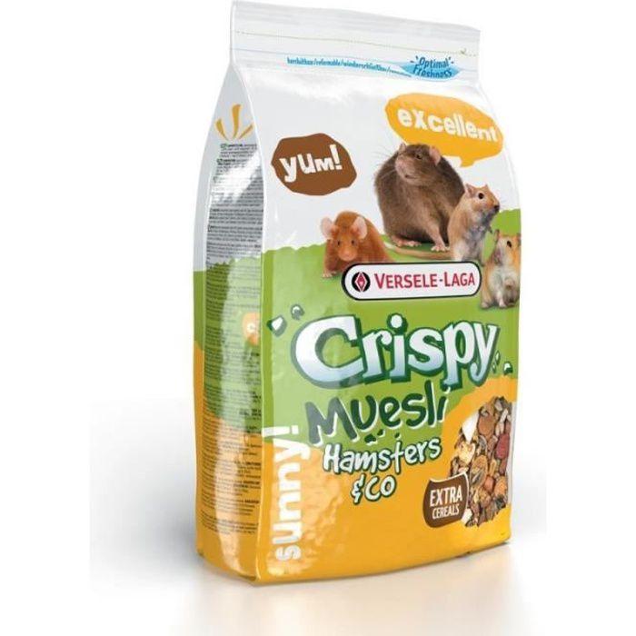 Nourriture pour hamster - hamster crispy