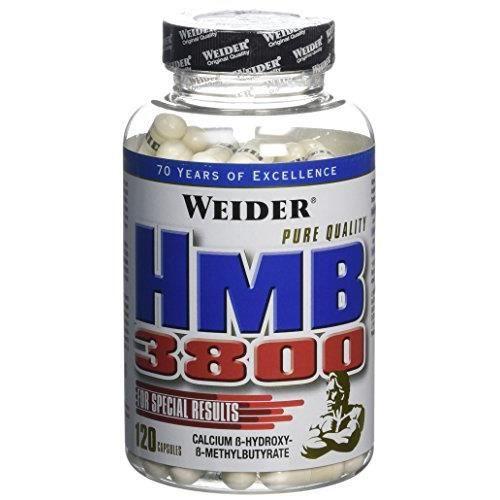 WEIDER Sachet de Hmb 3800 120 Gélules