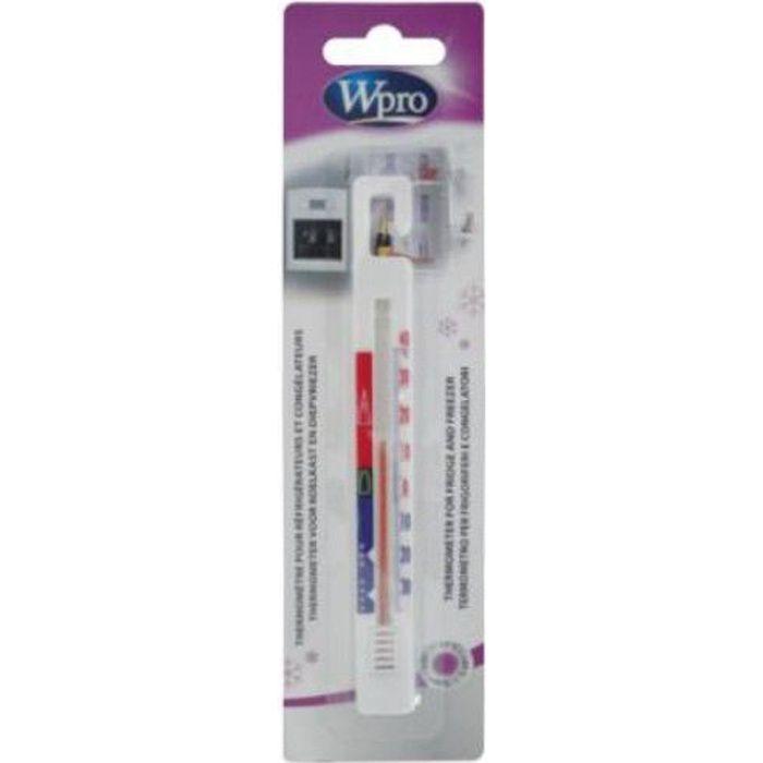 WPRO TER212 Thermomètre réfrigérateur/congélateur