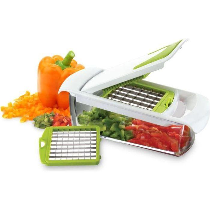 YOKO DESIGN Coupe-Légumes avec Deux Lames Interchangeables