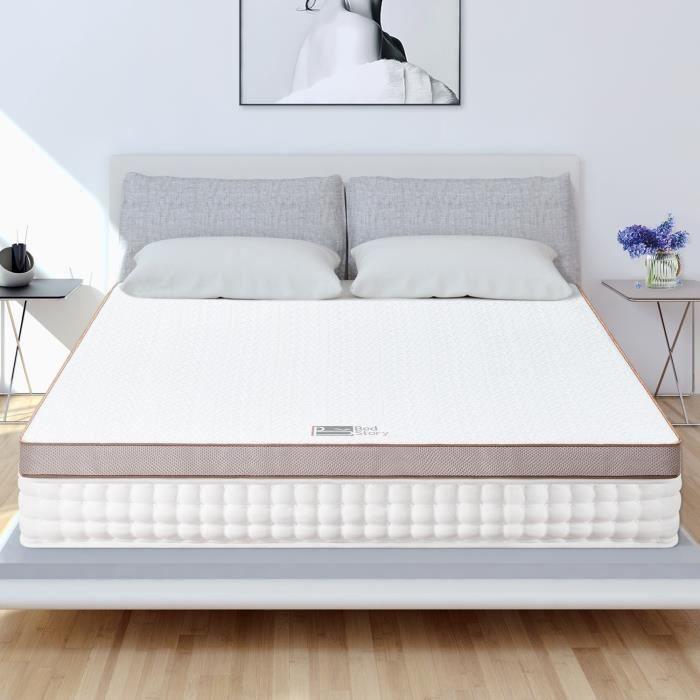 MATELAS BedStory Surmatelas 140x190 Mémoire de Forme Gel I