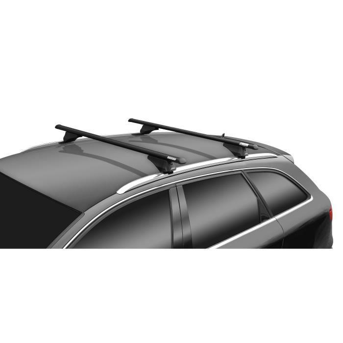 De 2007 jusqua 2013 - 4 Portes Barres de Toit ALU Mercedes C W204