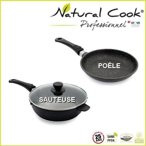 Poele natural cook