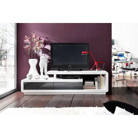 meuble tv design alice laqu 170cm achat vente meuble tv meuble tv design alice 170 cm. Black Bedroom Furniture Sets. Home Design Ideas
