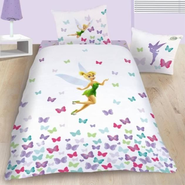 housse de couette disney fairies achat vente housse de couette disney fairies pas cher. Black Bedroom Furniture Sets. Home Design Ideas