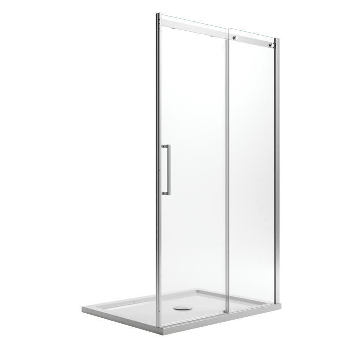 Porte Douche 120CM H185 transparent mod/èle Replay 1 Portillon