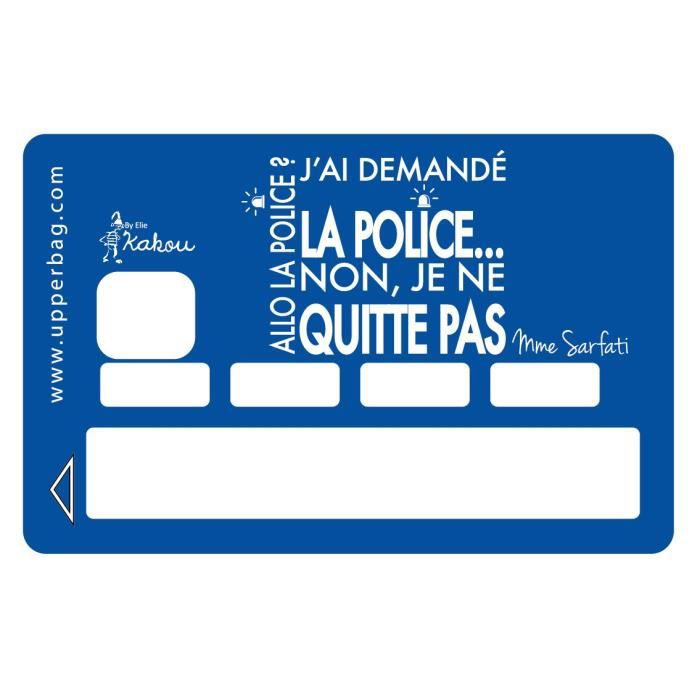 sticker cb by elie kakou allo la police achat vente stickers cdiscount. Black Bedroom Furniture Sets. Home Design Ideas