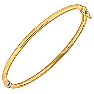BRACELET - GOURMETTE Bracelet jonc en Or 750 creux
