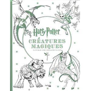 LIVRE JEUX ACTIVITÉS Les créatures Harry Potter