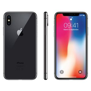 SMARTPHONE APPLE iPhone X Gris sidéral 6o
