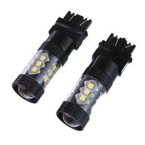 PHARES - OPTIQUES Cunibert®2PC 80 w 3030 T25 3156 3157 haute luminos