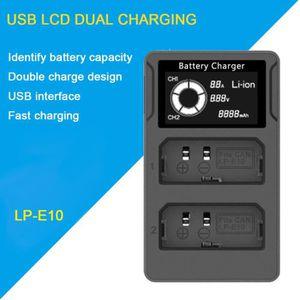 BATTERIE APPAREIL PHOTO Caméra LCD USB Display batterie double chargeur po
