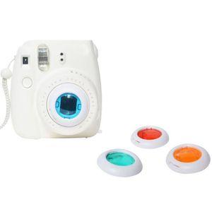 PACK APPAREIL RÉFLEX Filtre coloré 4 couleurs objectif magique pour Fuj
