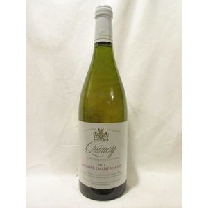 VIN BLANC quincy domaine champ martin blanc 2011 - loire - c