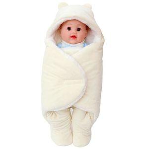 COUVERTURE - PLAID BÉBÉ Sac de couchage bébé Couverture chaude Siez S Beig