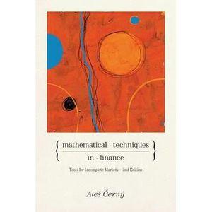 LIVRE CARRIÈRE EMPLOI Mathematical Techniques in Finance ÔÇô Tools fo…